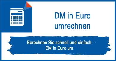DM in Euro umrechnen