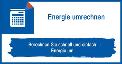 Energie umrechnen