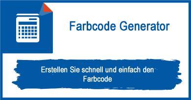 Farbcode Generator