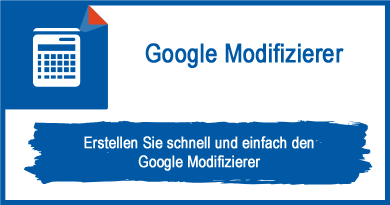Google Modifizierer