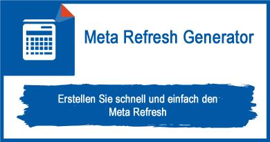 Meta Refresh Generator