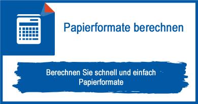 Papierformate berechnen