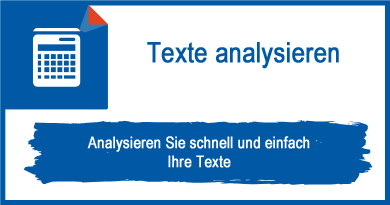 Texte analysieren
