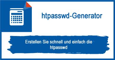 htpasswd-Generator