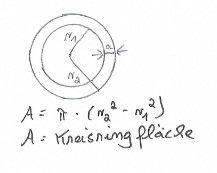 Kreisringflaeche-berechnen