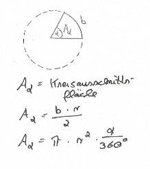 Kreisausschnittsflaeche-berechnen