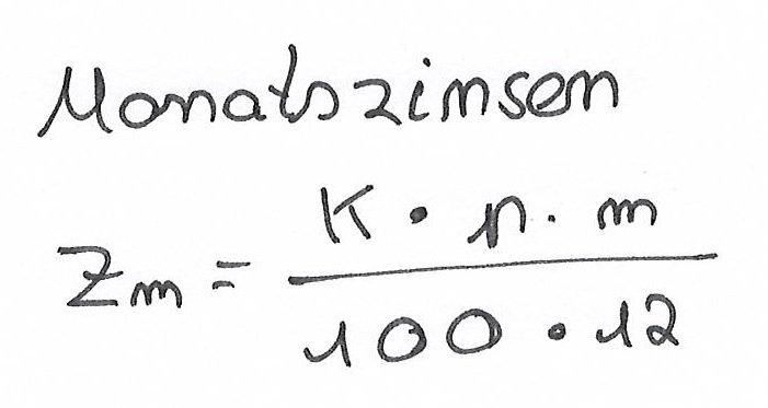 Monatszinsen-berechnen