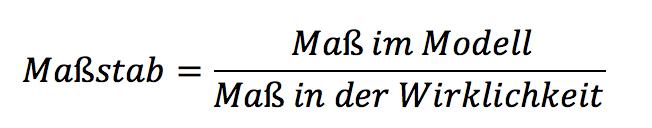 massstabformel