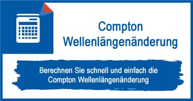Compton Wellenlängenänderung