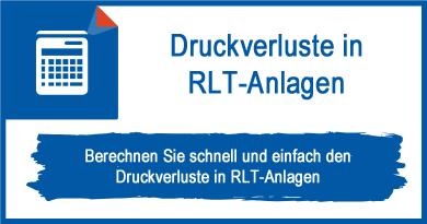 Druckverluste in RLT-Anlagen