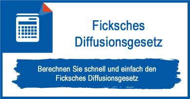 Ficksches Diffusionsgesetz