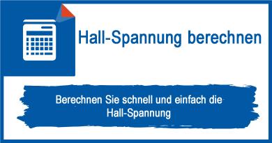 Hall-Spannung berechnen
