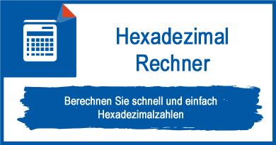 Hexadezimal Rechner