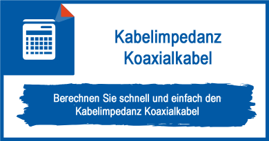 Kabelimpedanz Koaxialkabel