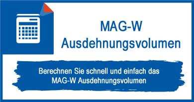 MAG-W Ausdehnungsvolumen