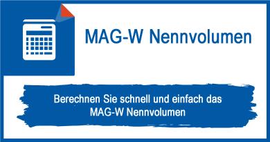 MAG-W Nennvolumen