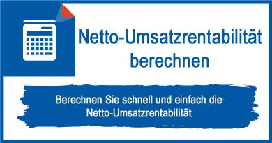 Netto-Umsatzrentabilität berechnen