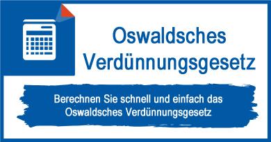 Oswaldsches Verdünnungsgesetz