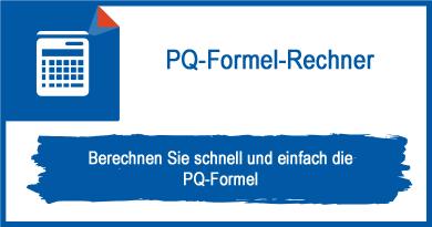 PQ-Formel-Rechner