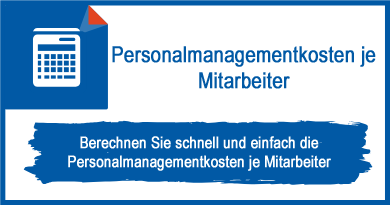 Personalmanagementkosten je Mitarbeiter