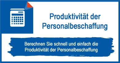 Produktivität der Personalbeschaffung
