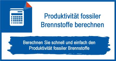 Produktivität fossiler Brennstoffe berechnen