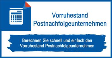 Vorruhestand Postnachfolgeunternehmen