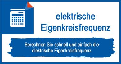 elektrische Eigenkreisfrequenz