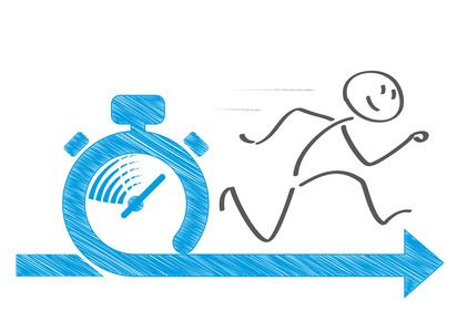 Laufgeschwindigkeit berechnen