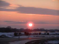 Sonnenaufgang im Hohen Norden